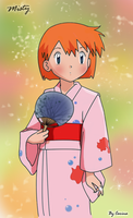 Misty in a Kimono by CarinaT