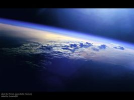 Earth_view by LocutusDM