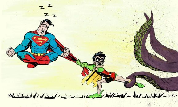 Wake up Superman by tbag5