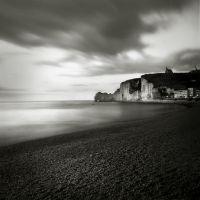 night in Etretat III by Kaarmen