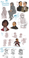 MORE DISHONORED DOODLES by AgentDax