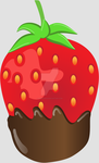 Chocolate Dipped Strawberry by omgolivia123