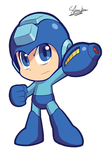 Power Up, Megaman. by Sallyface
