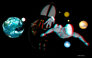 Anaglyph space by passionofagoddess
