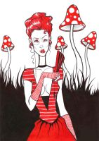 Shroom lady by call-me-special
