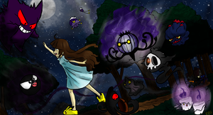 Play with us in the Night Air by ZombiePoetic