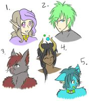 Portrait Adopts CLOSED by 207-Designs