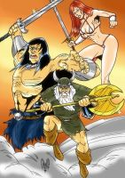 Golden Axe by violencejack666