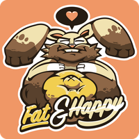 Fat 'n' Happy by AadmM