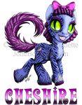 Cheshire Pony by JolieBonnetteArt