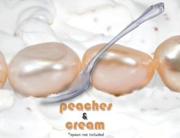 Peaches and Cream by BeadsofCambay