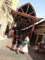 Souk entrance by Toash