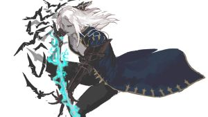 Castlevania Lords of Shadow2 rough Alucard by NightArmster