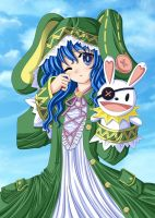 Date A Live : Yoshino and Yoshinon by Artemisumi