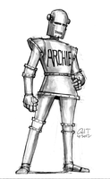 DSC 42612- Robot Archie by GilTriana