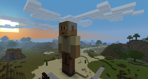 Minecraft John Locke by LarpLoser