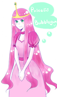 Princess Bubblegum by boringcloud