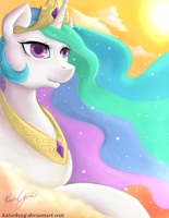 Celestia: Tyrant...erm...Princess of the Sun by katurkeyg