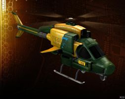 GCTV HELICOPTER by Goreface13