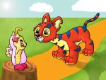 Neopets - A day at petpet park by MumbletotheSky