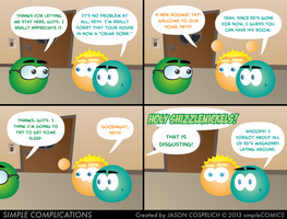SC632 - A New Roommate by simpleCOMICS