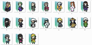 Nurarihyon no mago Folder Icons by Ginokami6