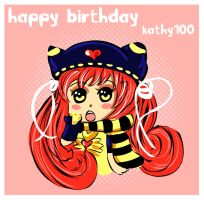 Happy Birthday Kathy100 by miemie-chan3