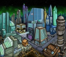 City Scape by RmitGames