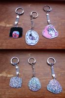Crystal gem charms by Mari-Golds