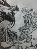 Violate Vs Regulus by victoriapieroni