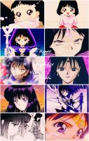 Happy Birthday Sailor Saturn by Before-I-Sleep