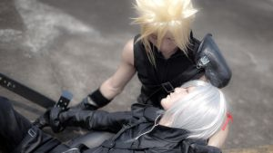 Advent Children: Final Moments by zerartul