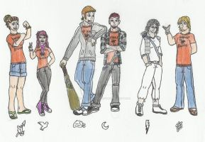 SoA: The Gang's All Here by werewolfwannabe1224