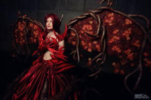 Blackthorn Morgana - Japan Expo 2013 by NereideCosplay