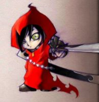 lil red riding hood...samurai by tobiee
