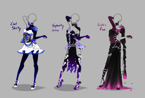 Outfit design - Halloween set - closed by LotusLumino