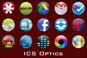 Android Icons | ICS Optics by lostintortola