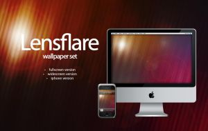 lensflare wallpaper set by twinware