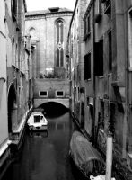 Venice 6 - Black and White by jpa