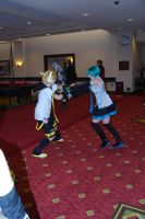 Miku and Len from Vocaloid by MystFearie93