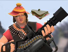 Heavy Gaben by CrazypaintSimon