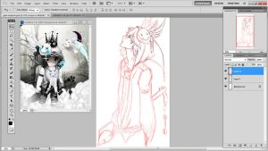 WIP Commission: The Maledict by DefineYvonne