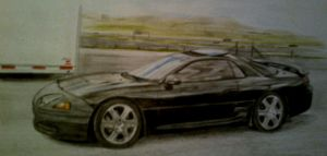 Mitsubishi 3000GT by And300ZX
