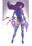 Psylocke by Juggertha