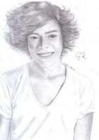 Harry Styles drawing 02. :) by Love-Graphics