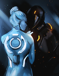 Gem and Rinzler by FallonBeaumont
