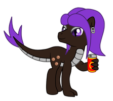 OC: Cola Komodo the Longma by SilverRomance