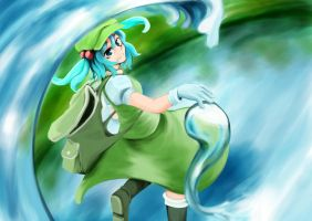 Touhou Nitori April 23th by VLK1993