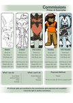 2014 Commission Sheet by Knuxtiger4