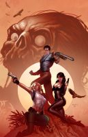 Danger girl Army of Darkness 2 by PaulRenaud